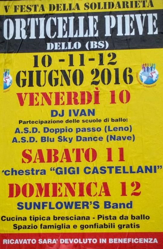 Festa della Solidarietà a Corticelle Pieve