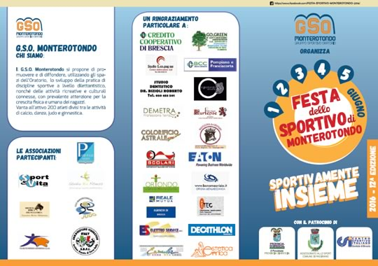 Festa dello Sportivo a Monterotondo