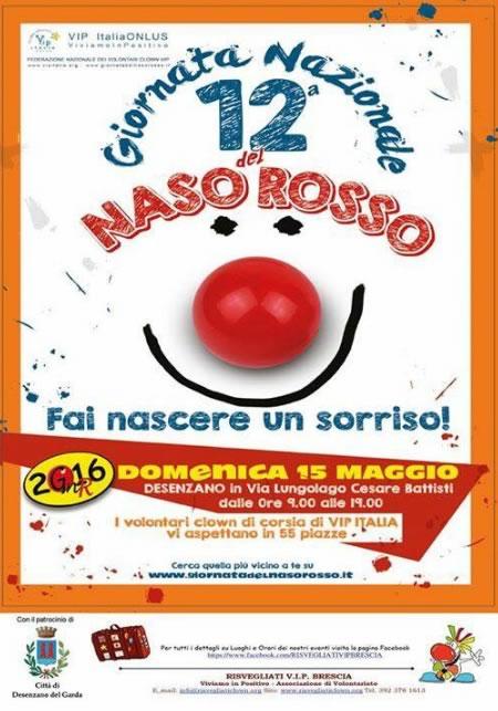Giornata del Naso Rosso a Desenzano