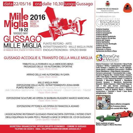 Gussago Mille Miglia 2016