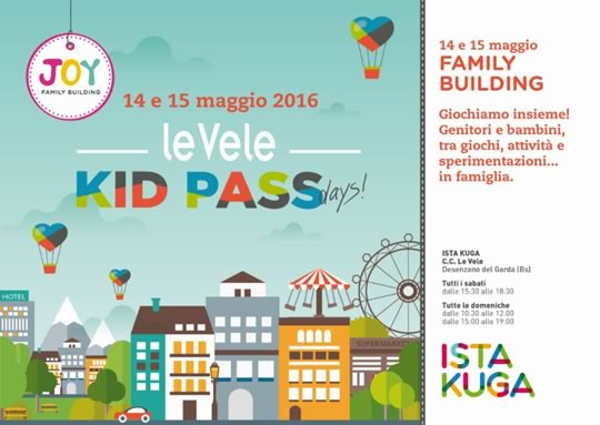 Kid Pass Day al Centro Commerciale di Desenzano