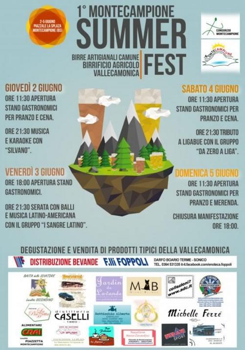 Montecampione Summer Fest
