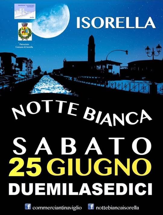 Notte Bianca 2016 a Isorella