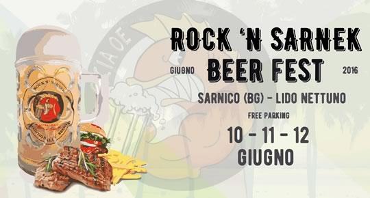 Rock'n Sarnek Beer Fest a Sarnico BG