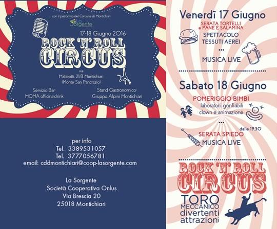 Rock'n'Roll Circus a Montichiari