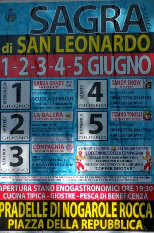 Sagra di San Leonardo a Pradelle di Nogarole Rocca