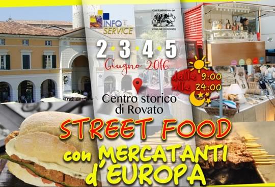 Street Food con Mercati d'Europa a Rovato