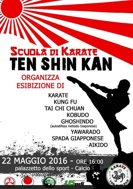 Ten Shin Kan a Calcio BG