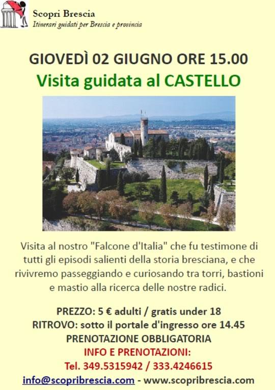 Visita Guidata al Castello di Brescia
