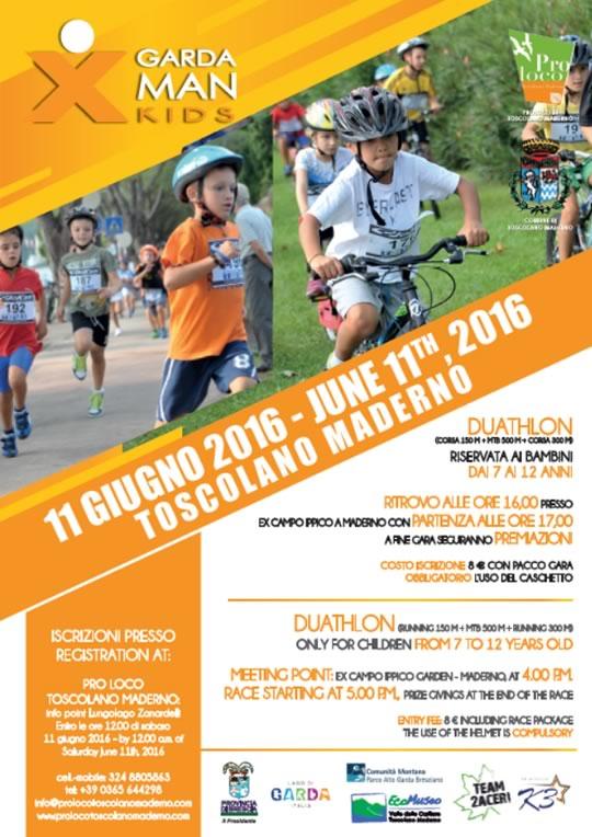 X Garda Man Kids a Toscolano Maderno