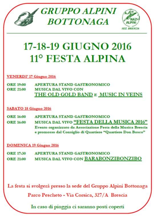 11 Festa Alpina Bottonaga a Brescia