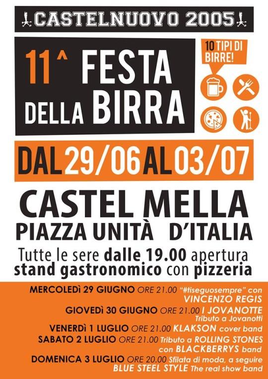 11^ festa della birra a Castelmella