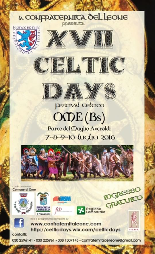 17 Celtic Days a Ome