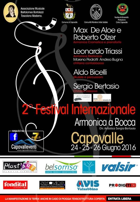 2 Festival Internazionale Armonica a Bocca a Capovalle