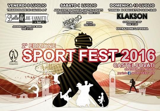 2 Sport Fest a Castelcovati