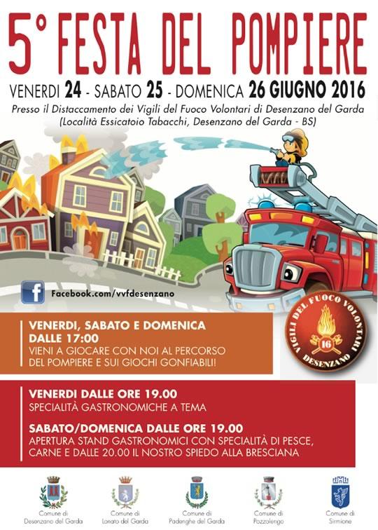 5 Festa del Pompiere a Desenzano