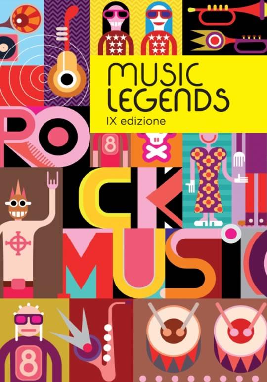 9 Music Legends a Brescia