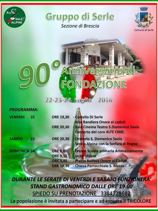 90 Fondazione Alpini Serle