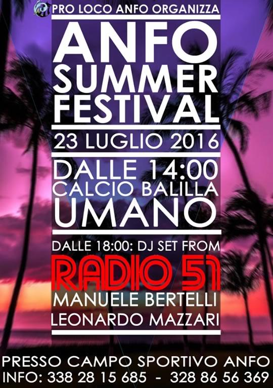 Anfo Summer Festival