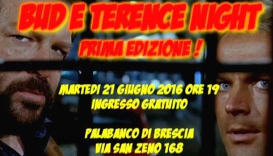 Bud e Terence Night a Brescia