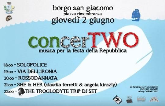 ConcerTwo a Borgo San Giacomo