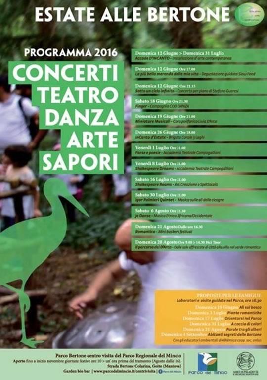 Concerti Teatro Danza Arte Sapori a Goito MN