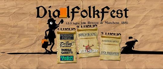 Dial Folk Fest a Marcheno