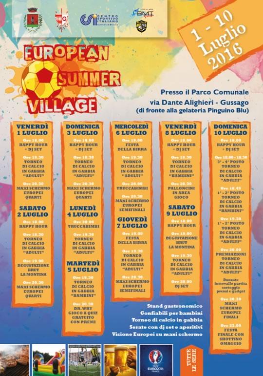 European Summer Village a Gussago