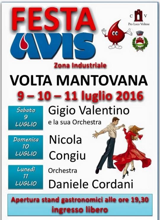 Festa AVIS a Volta Mantovana
