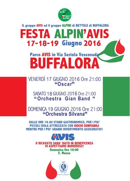 Festa Alpin'Avis a Buffalora