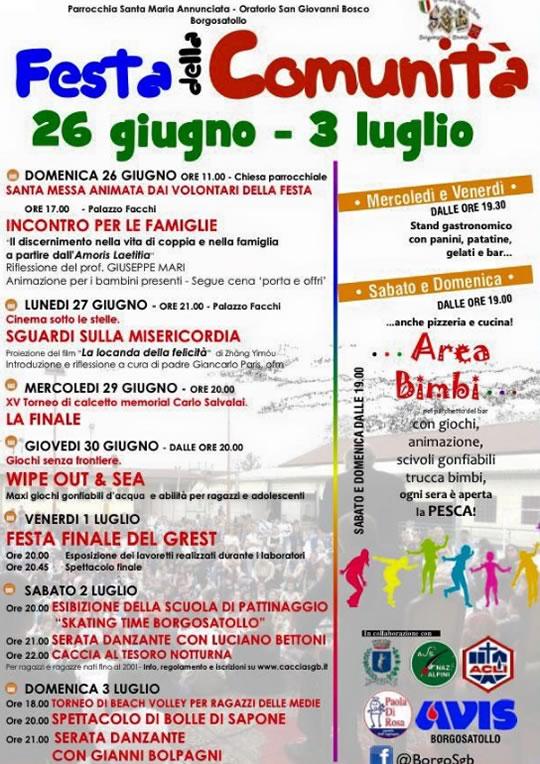 Festa della Comunità a Borgosatollo