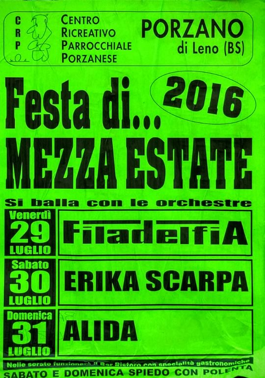 Festa di Mezza Estate a Porzano