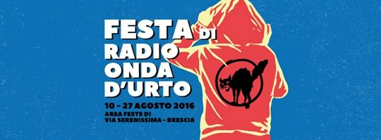 Festa di Radio Onda d'Urto a Brescia