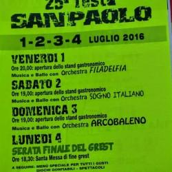 Feste Patronali a San Paolo