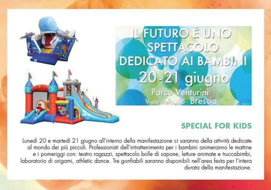 Futuro è uno Spettacolo a Brescia