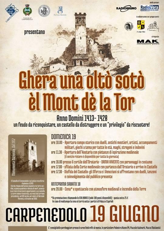 Ghera una olto soto el Mont de la Tor a Carpenedolo