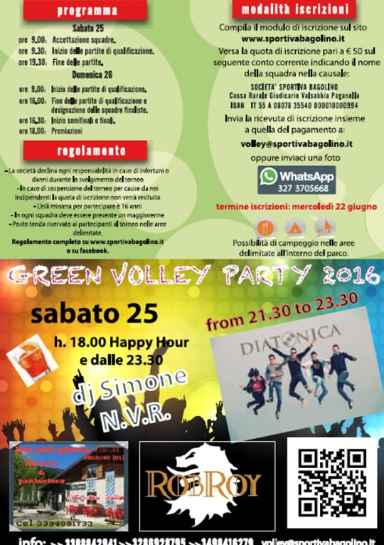 Green Volley Bagolino