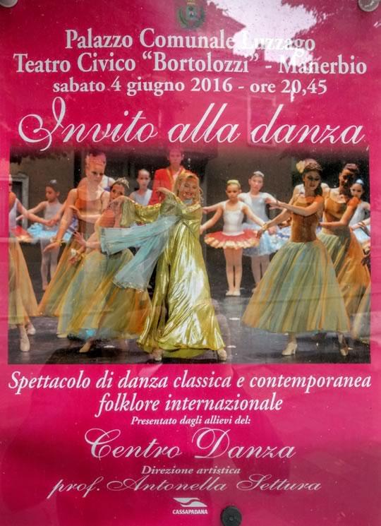 Invito alla Danza a Manerbio