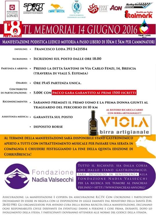 L'8 per l'Amore a Brescia