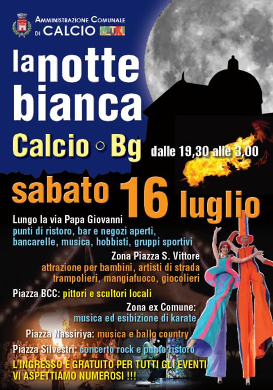 La Notte Bianca a Calcio