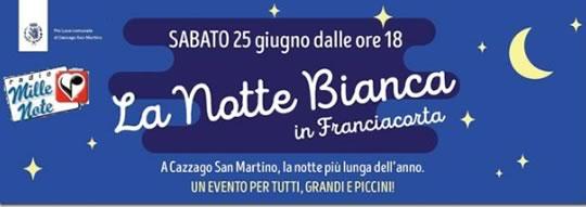 La Notte Bianca a Cazzago San Martino