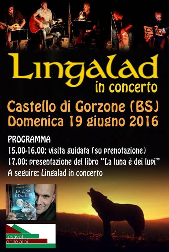 Lingalad al Castello di Gorzone