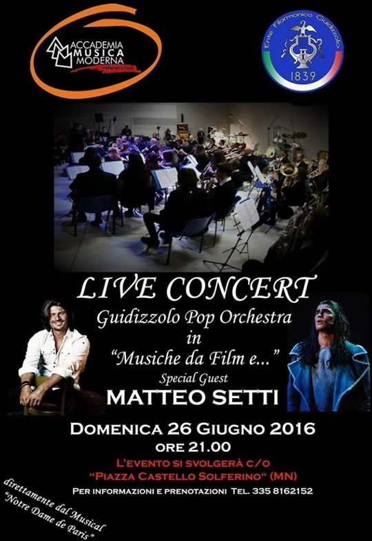 Live Concert a Guidizzolo MN