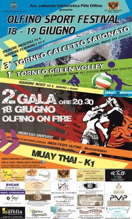 Olfino Sport Festival a Monzambano MN
