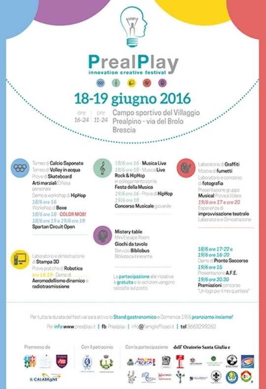 PrealPlay al Villaggio Prealpino