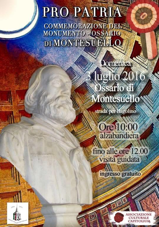 Pro Patria Commemorazione del Monumento Ossario di Montesuello