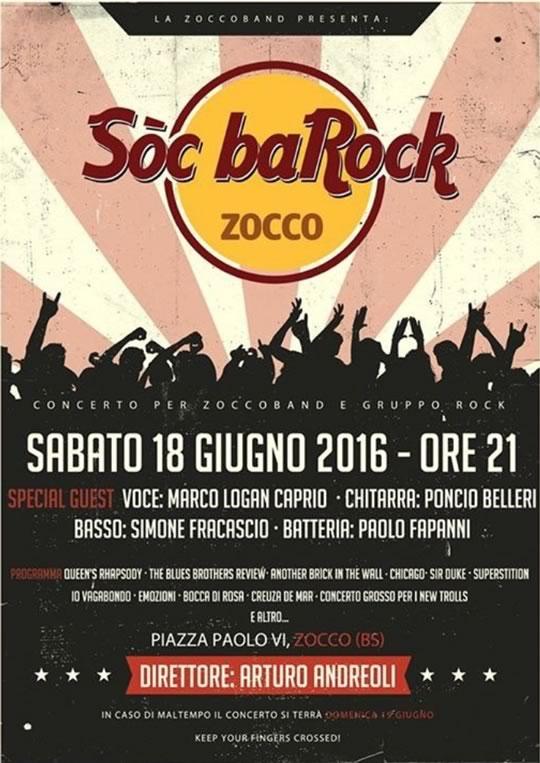 Soc BaRock a Zocco