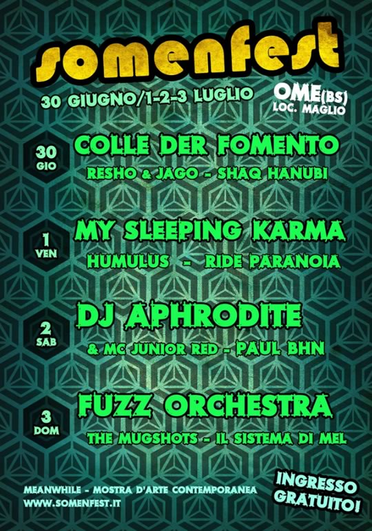 Somenfest 2016 a Ome