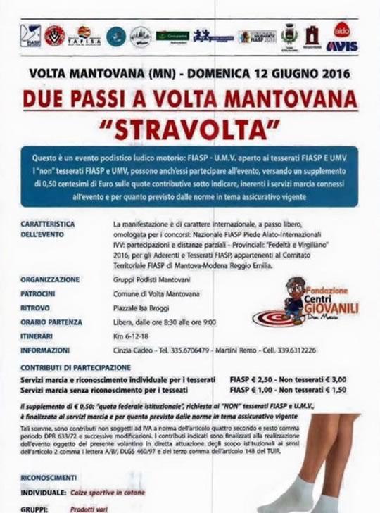 StraVolta a Volta Mantovana