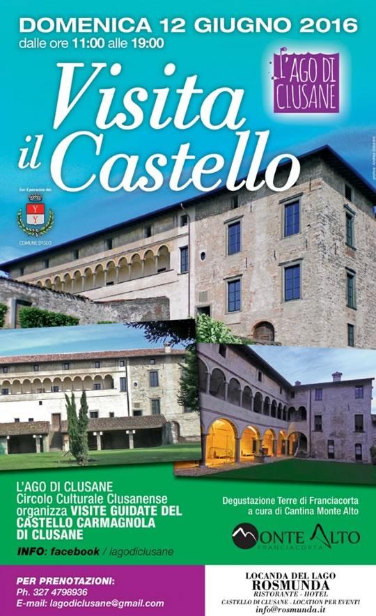 Visita il Castello a Clusane d'Iseo